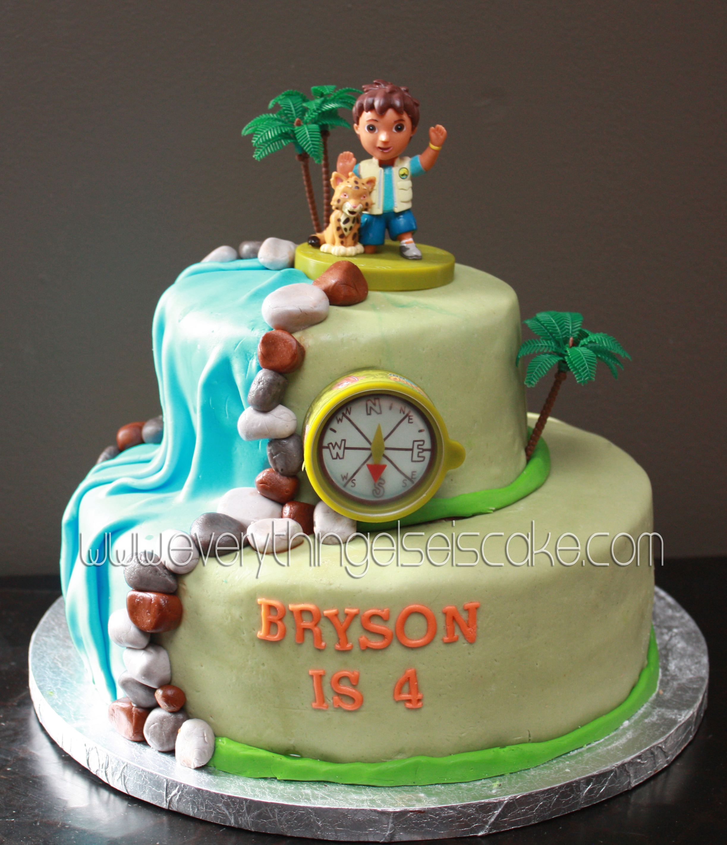 Go Diego Go Cake Everything Else Is Cake - Go diego go birthday cake