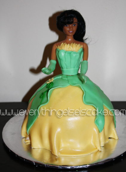 the princess and the frog cake. The parents wanted the Frog