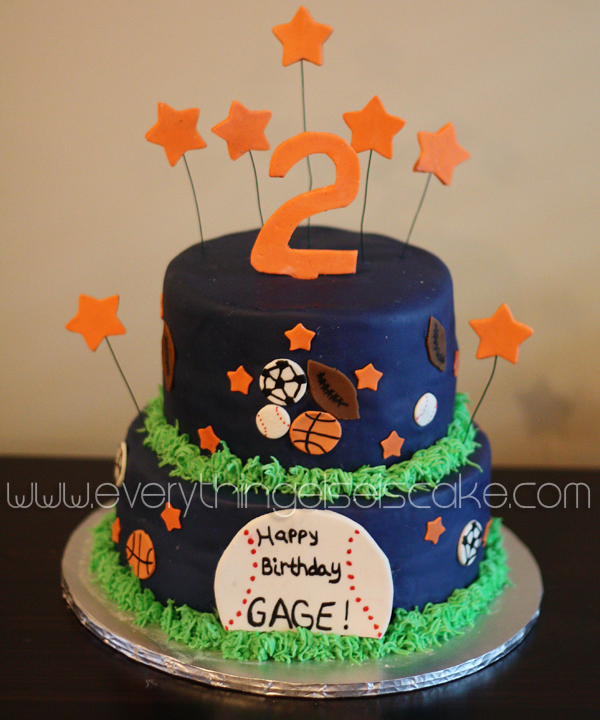 Pleasing All Star Sports Cake Everything Else Is Cake Funny Birthday Cards Online Bapapcheapnameinfo